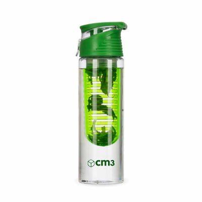 CM3 - Garrafa transparente 700 ml com infusor
