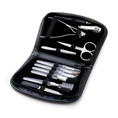Kit Maquiagem e manicure com estojo - CM3