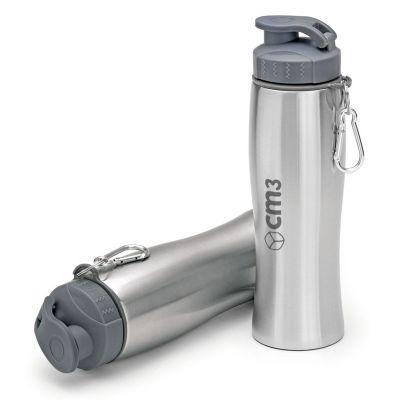 cm3-ind-e-com-ltda - Squeeze Metal com Mosquetão 750ml