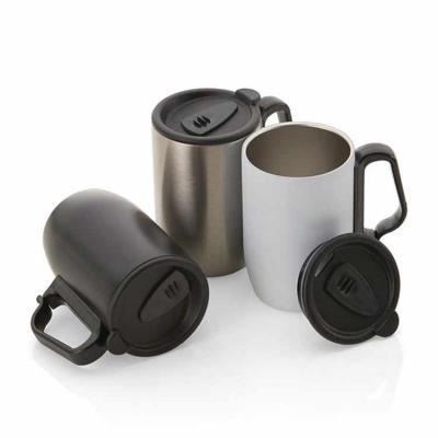 Caneca personalizada com capacidade de 350ml. Caneca térmica personalizada feita em aço inox com ...