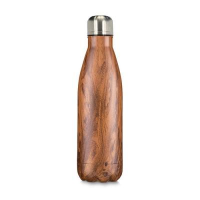 Garrafa Steel Wood Térmica