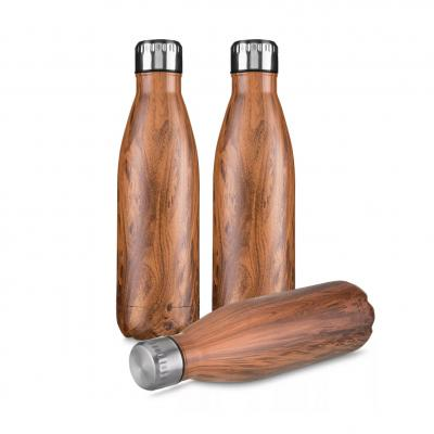 plus-brindes - Garrafa Steel Wood