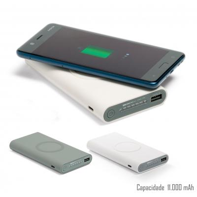 Power Bank Por Inducao 902 - Plus Brindes
