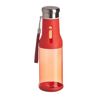 plus-brindes - Squeeze personalizada feita em plástica, com capacidade de 700ml. Tampa metálica rosqueável a vácuo.  Alças para carregar, prender na mochila e não pe...