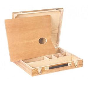 trident - Estojo de madeira.