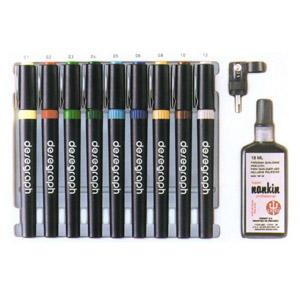 Trident - Estojo com canetas para desenho.