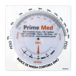 Régua para uso médico