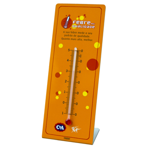 Termômetro personalizado. - Trident