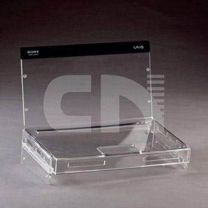 CN Acrilycs - Display em acrílico cristal.