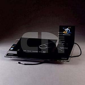 cn-acrilycs - Display em acrílico preto e cristal.