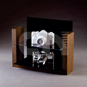 cn-acrilycs - Display em MDF e acrílico cristal.