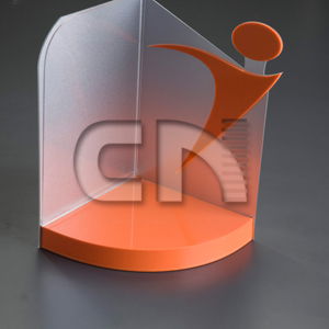 CN Acrilycs - Display personalizado em acrílico colorido.