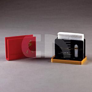 cn-acrilycs - Porta guardanapo em acrílico cristal ou colorido
