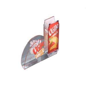 cn-acrilycs - Porta guardanapo promocional em acrílico cristal e com recorte personalizado.