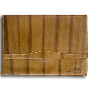 Duna Brindes - Pasta envelope confeccionada em couro legítimo, sintético ou ecológico