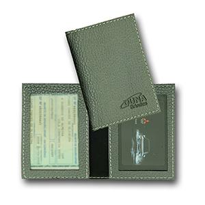 duna-brindes - Porta-documento confeccionado em couro legítimo, sintético ou ecológico
