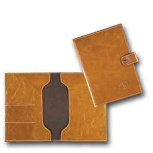 duna-brindes - Porta-manual automotivo confeccionado em couro legítimo, sintético ou ecológico