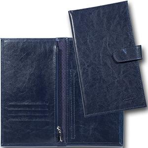 duna-brindes - Porta-Voucher confeccionado em couro legítimo, sintético ou ecológico