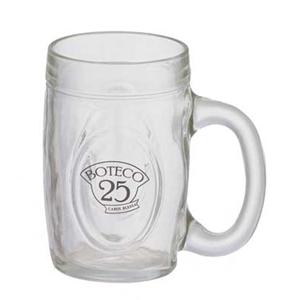 dumont-abc - Caneca de chopp personalizada em vidro fritz - 300 ml.