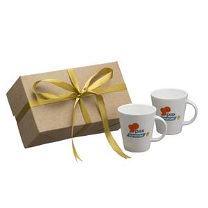 kit personalizado com 2 canecas coni - 220 ml. - Dumont ABC Porcelanas Personal...
