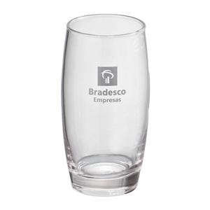 - Copo personalizado em vidro oca - 400 ml. Sua marca presente no dia a dia dos clientes.
