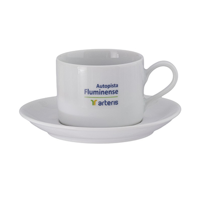 Dumont ABC Porcelanas Personalizadas - Xícara de chá reta GR.