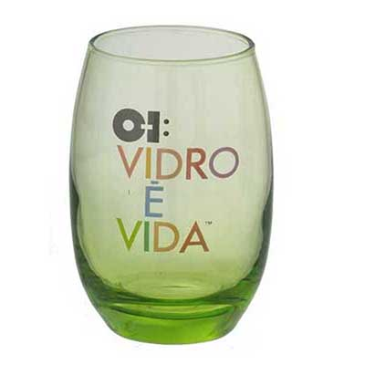 dumont-abc - Copo long drink belize verde 450ml.