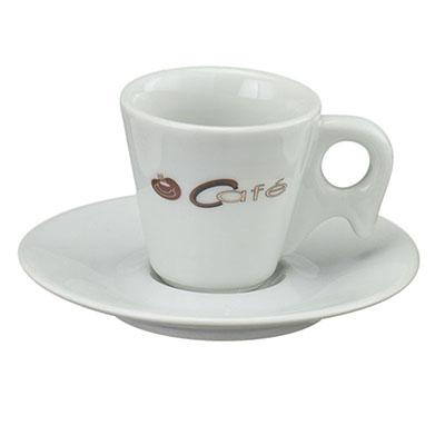 Dumont ABC Porcelanas Personalizadas - Xícara de café em porcelana sch.