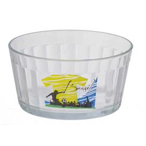 dumont-abc - Tigela americana personalizada em vidro 500 ml.