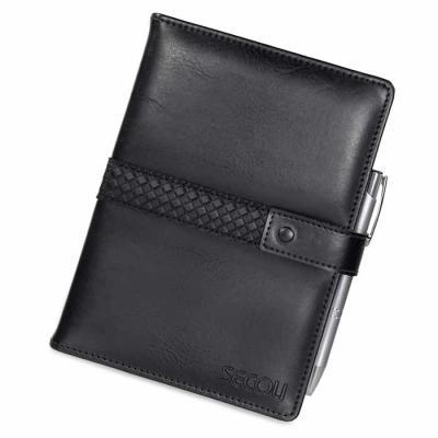secoli-brindes - Agenda diária, permite anotar compromissos com elegância e praticidade, mantendo sua marca constantemente junto ao cliente.