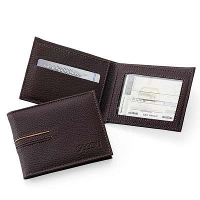 Secoli Brindes - Uma carteira prática e elegante, com design arrojado que possibilita levar a sua marca mundo afora.