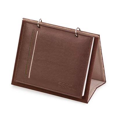 Secoli Brindes - Porta calendário / foto com argolas articuláveis e 5 bases para até 10 fotos. Sua marca ao lado das melhores lembranças!