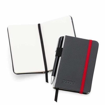 Caderneta de Anotações lúdica e de fácil transporte, deixando sua marca junto ao seu cliente - Secoli Brindes