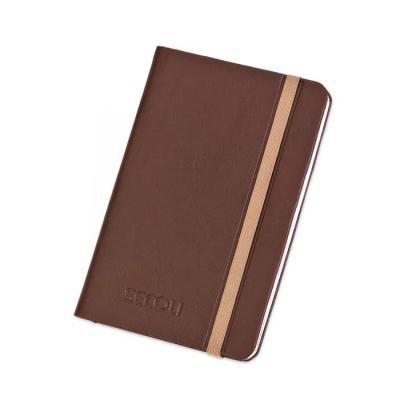 Secoli Brindes - Caderneta com 98 folhas lisas e bolso interno em papel.Seu espaço garantido na vida do cliente!