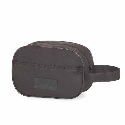 Secoli Brindes - Necessaire com alça charmosa e prática, ideal para guardar e transportar itens pessoais no dia a dia e em viagens com segurança.