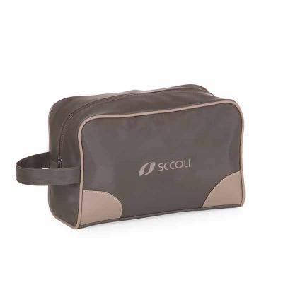 Secoli Brindes - Necessaire com alça ideal para as mais variadas atividades mantendo os itens organizados e seguros.