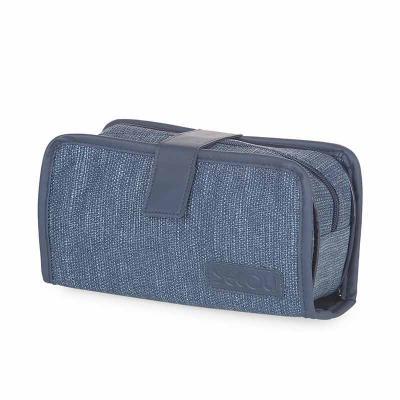 Secoli Brindes - Necessaire semiestruturada ideal para as mais variadas atividades, com compartimentos que mantém todos os itens organizados e seguros.