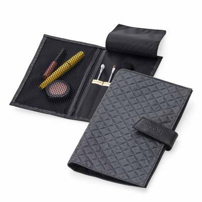 secoli-brindes - Necessaire Organizadora, ideal para levar em viagens ou na bolsa, mantendo sua marca presente em todos os lugares.
