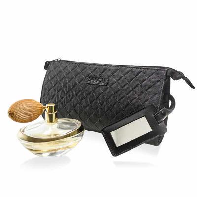 Secoli Brindes - Necessaire charmosa e prática, ideal para guardar e transportar pequenos itens, com espelho acoplado, mantendo sua marca constantemente junto a client...