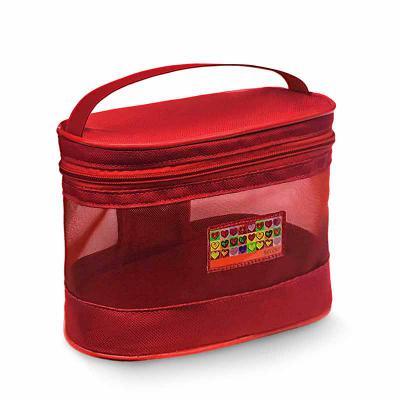 Secoli Brindes - Frasqueira com ótimo custo x benefício, ideal para guardar e transportar itens pessoais. Sua marca sempre junto ao cliente em etiqueta resinada