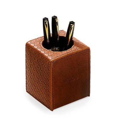 Secoli Brindes - Organizador com forro, capa e porta canetas.Sua marca oferecendo utilidade diária ao cliente!