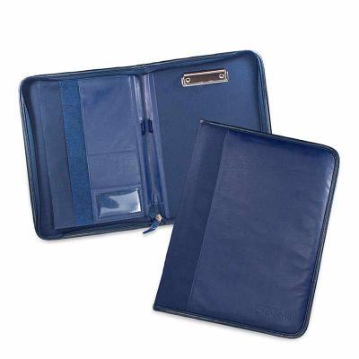 Secoli Brindes - Pasta prática e segura, transporta documentos e anotações para reuniões e convenções, mantendo sua marca sempre em evidência