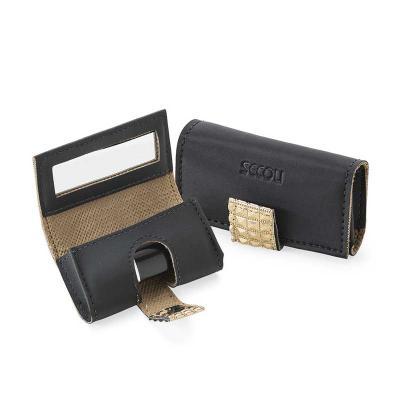 Secoli Brindes - Porta batom.Um toque de elegância, equipado com espelho para facilitar o retoque!