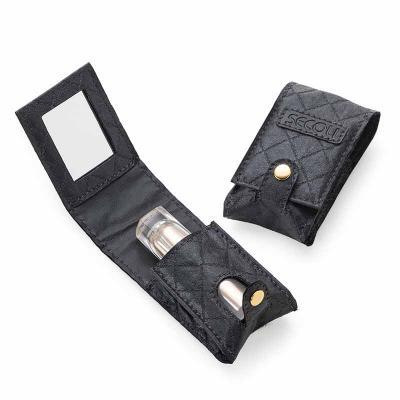 Secoli Brindes - Porta batom elegante, que permite o retoque da maquiagem em qualquer momento ou lugar e facilita localização na bolsa.
