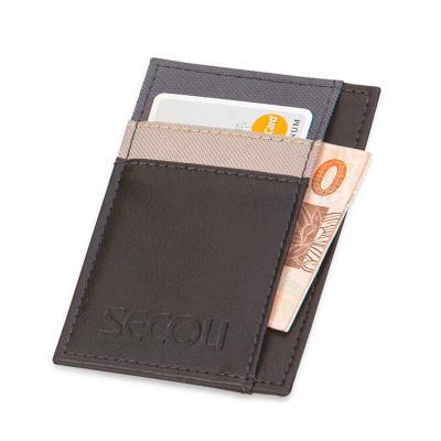 secoli-brindes - Porta cartão que leva sua marca junto ao cliente.