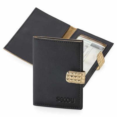 secoli-brindes - Unindo elegância e praticidade, este porta documentos é ideal para transportar documentos, como CNH e R.G., além de cartões, tanto de bancos como de v...