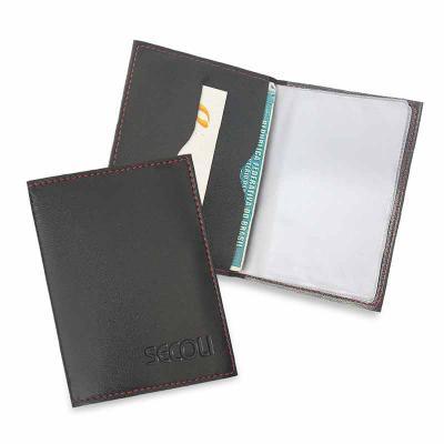 secoli-brindes - Porta documentos prático, funcional e com ótimo custo benefício.