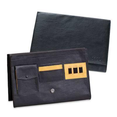 Secoli Brindes - Pasta envelope com base flexível e fechamento através de lingueta e botão.Sua marca oferecendo facilidades na vida do cliente!
