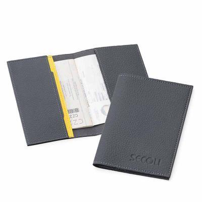 Porta Passaporte e documentos que leva a sua marca pelo mundo afora. - Secoli Brindes