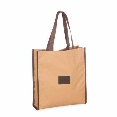 Secoli Brindes - Sacola grande de base flexível e alça bicolor.Qualidade e excelência garantidos por sua marca!